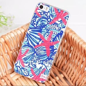 NNEW Lilly Pulitzer Print iphone case for 8. Shell
